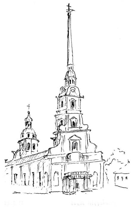 St. Petersburg Peter-Paul-Kirche